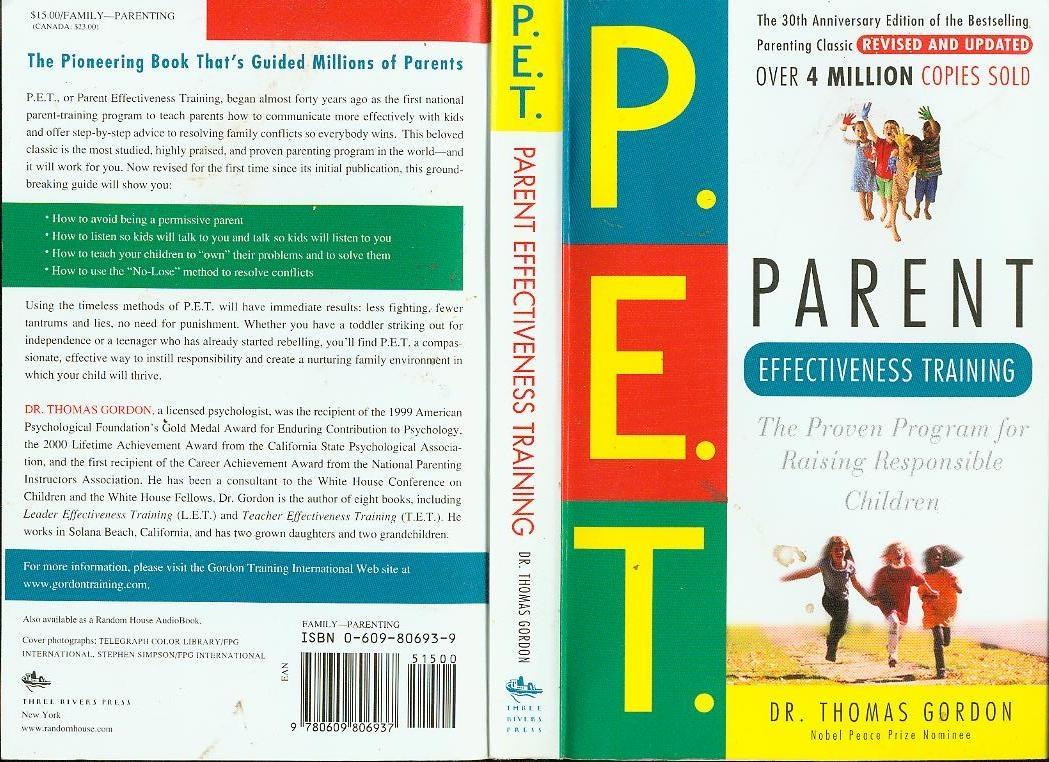 P.E.T. | Parent Effectiveness Training.